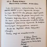 anıtkabir hitap yazısı